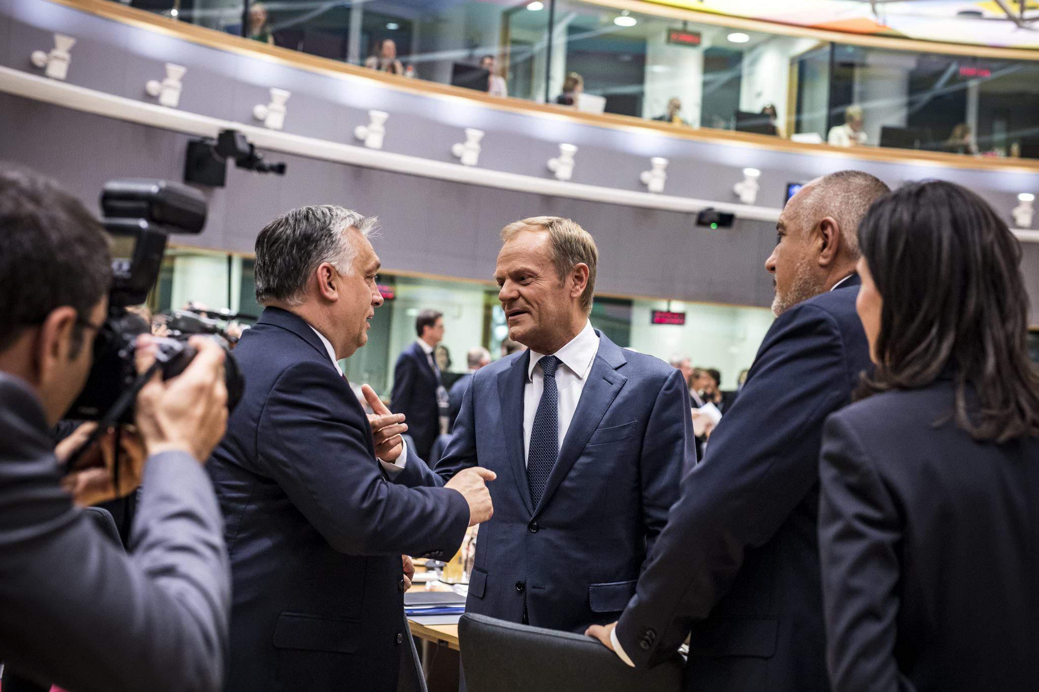 Tusk Orbán EU