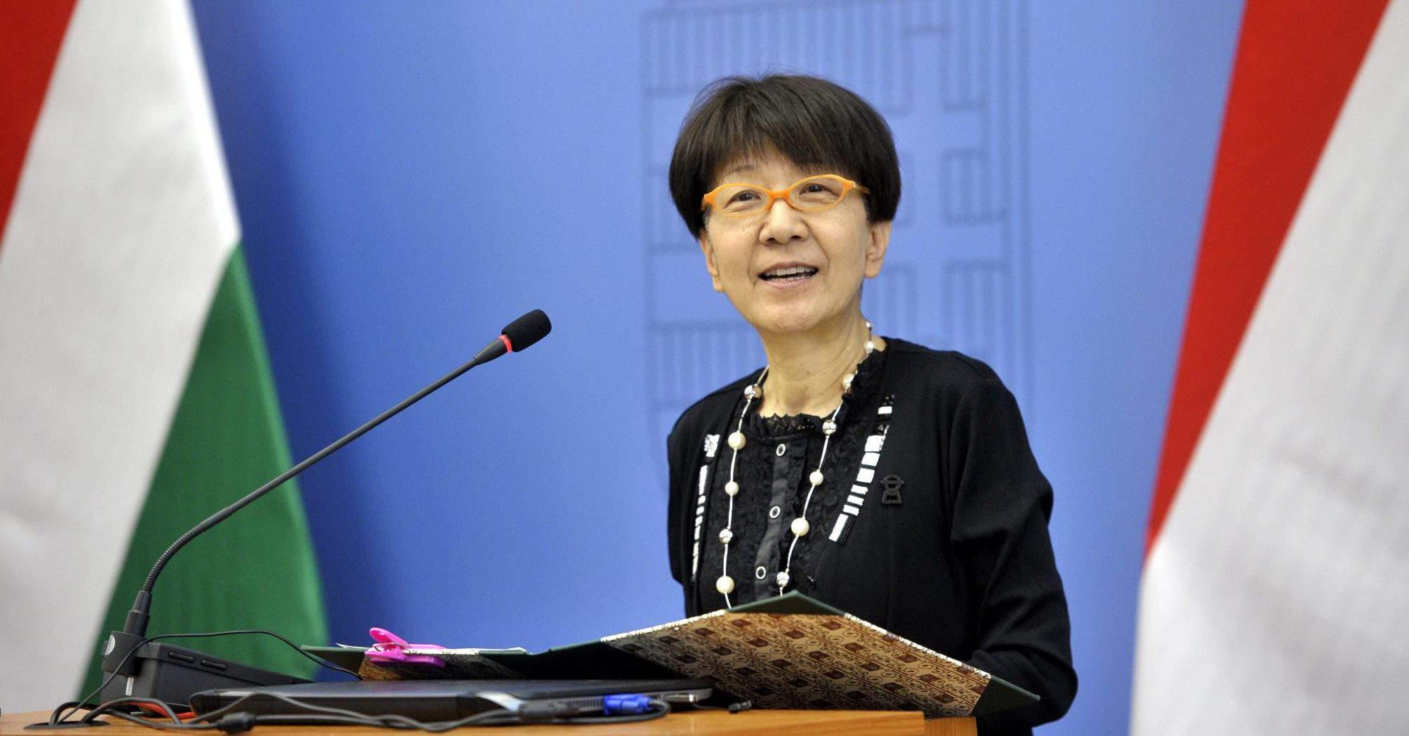 Japanese Ambassador Sato Kuni Hungary
