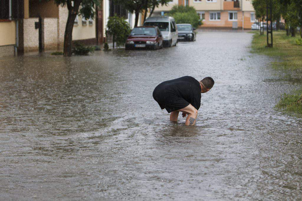Storms, eviction and four deaths hit Western Hungary