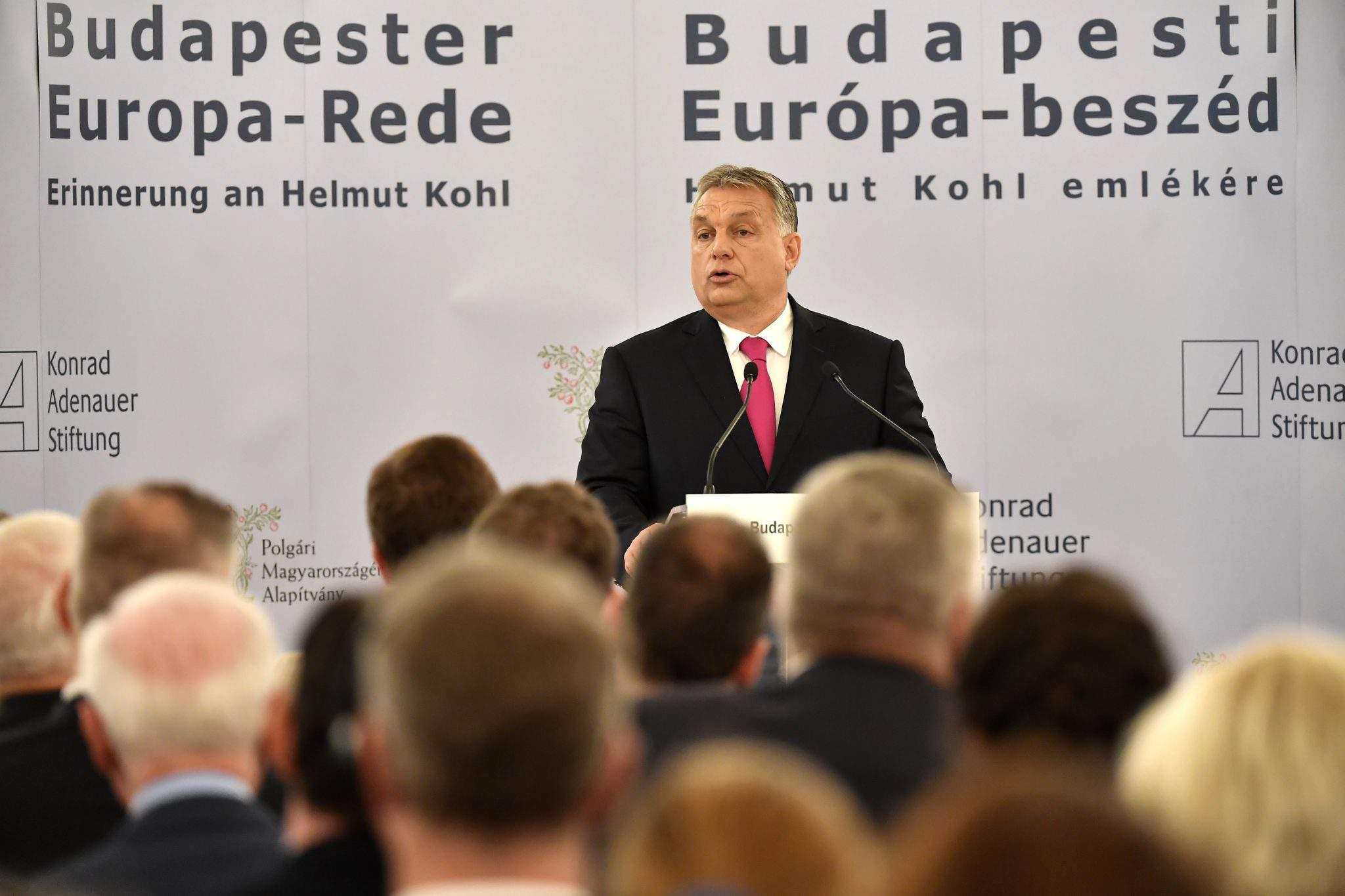 Orbán Helmut Kohl