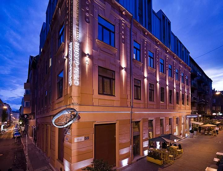 Opera garden hotel budapest