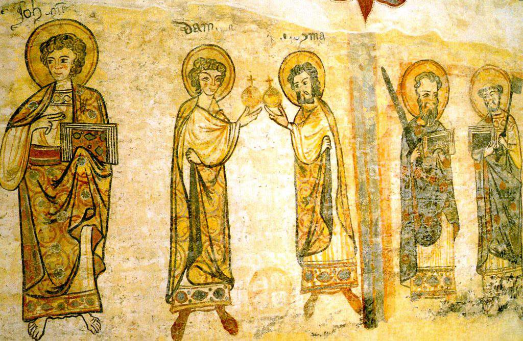 csaroda village church mural