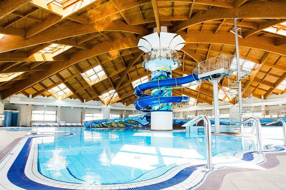 aquaparks, water slide, pool