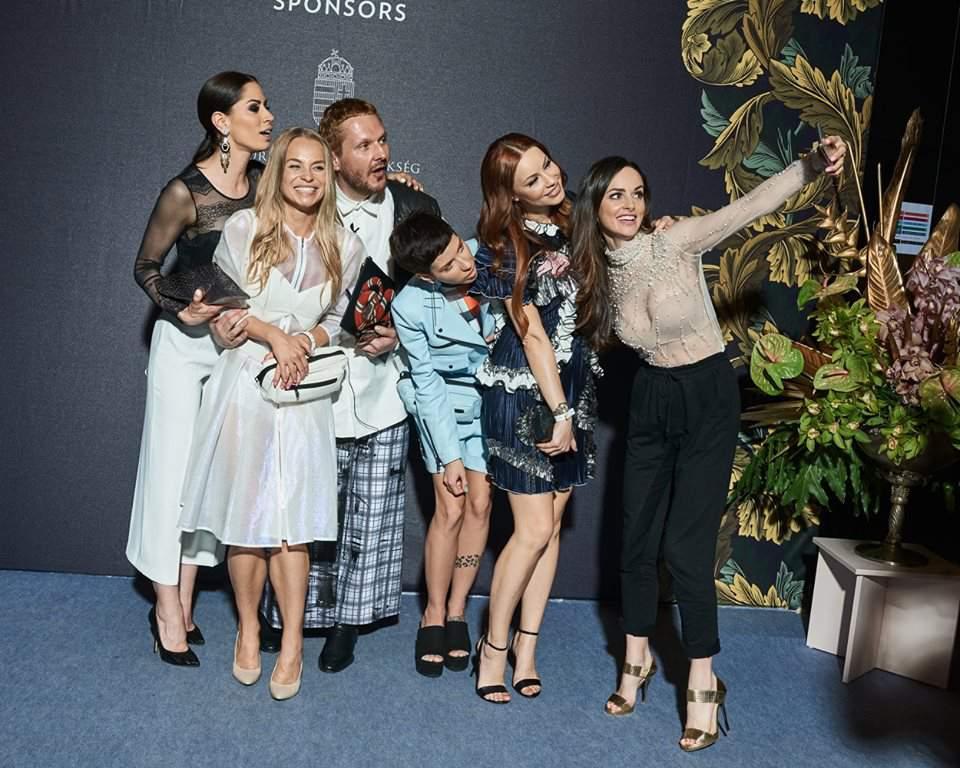 fashion week, press wall