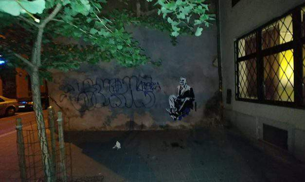Scandal – Hungarian political party impersonating British street artist?