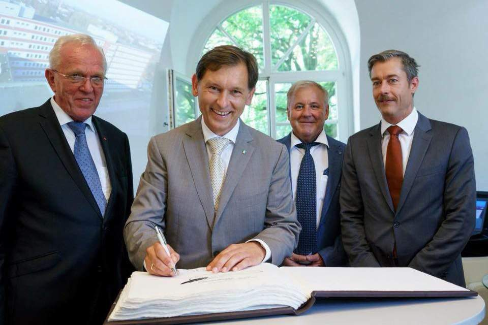 Hungarian-German company to conquer the German construction industry?