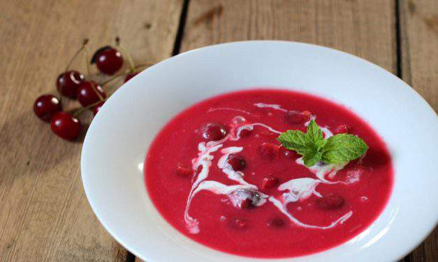 Recipe of the week: sour cherry soup