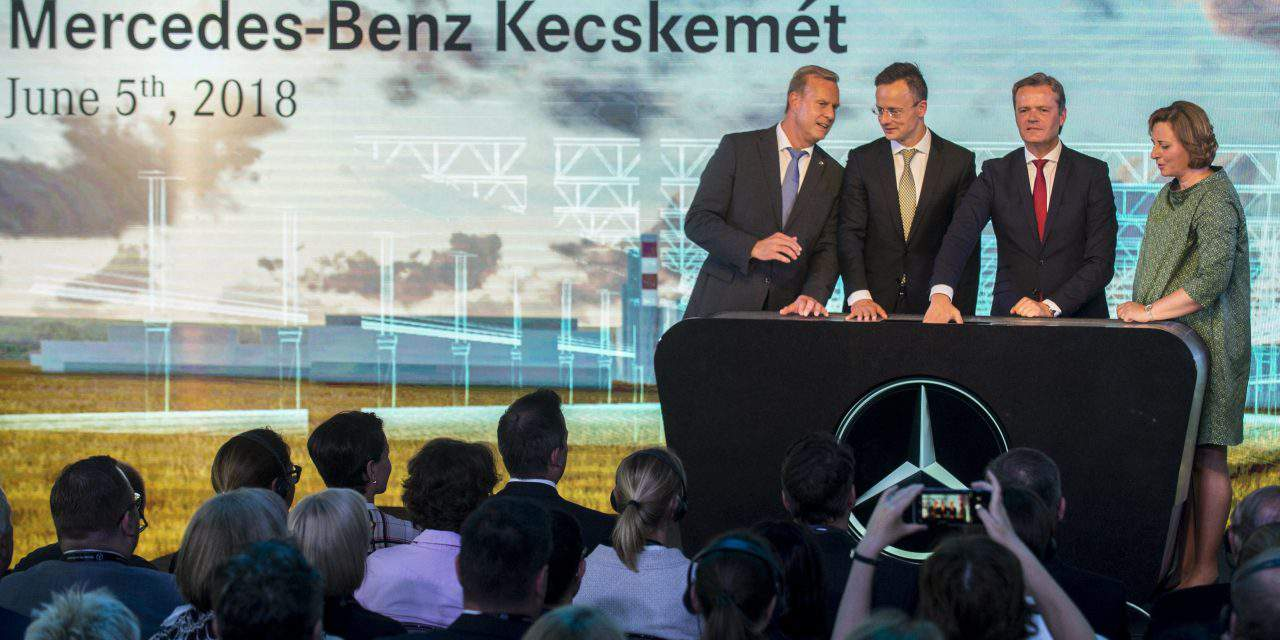 Mercedes breaks ground for second plant in Hungary