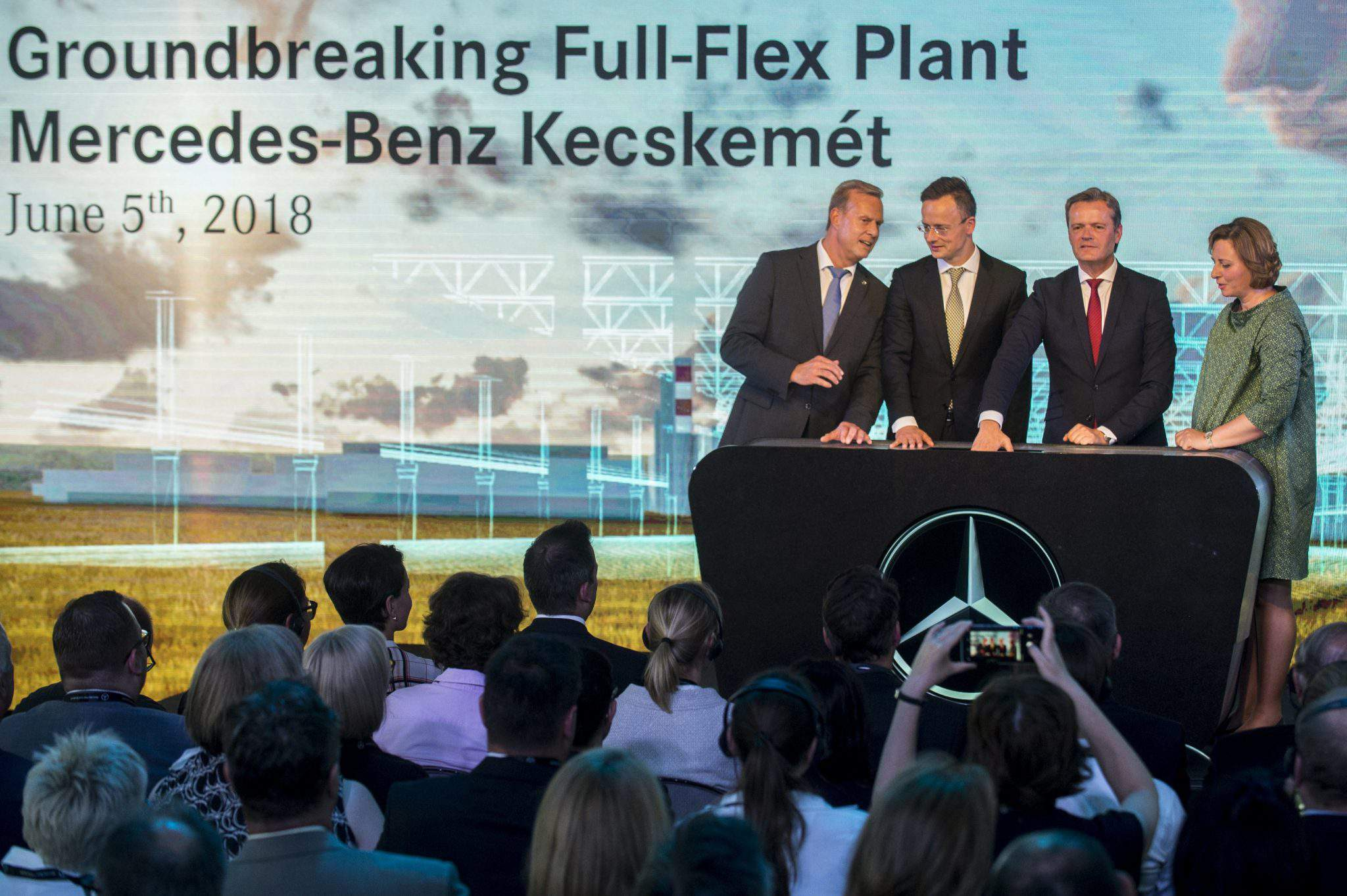 Mercedes Benz investment