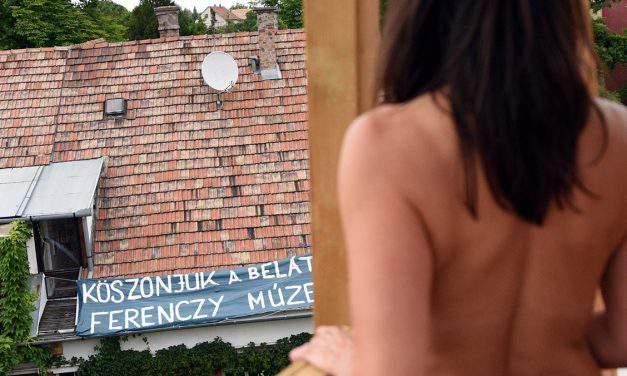 Everybody gets naked in Szentendre