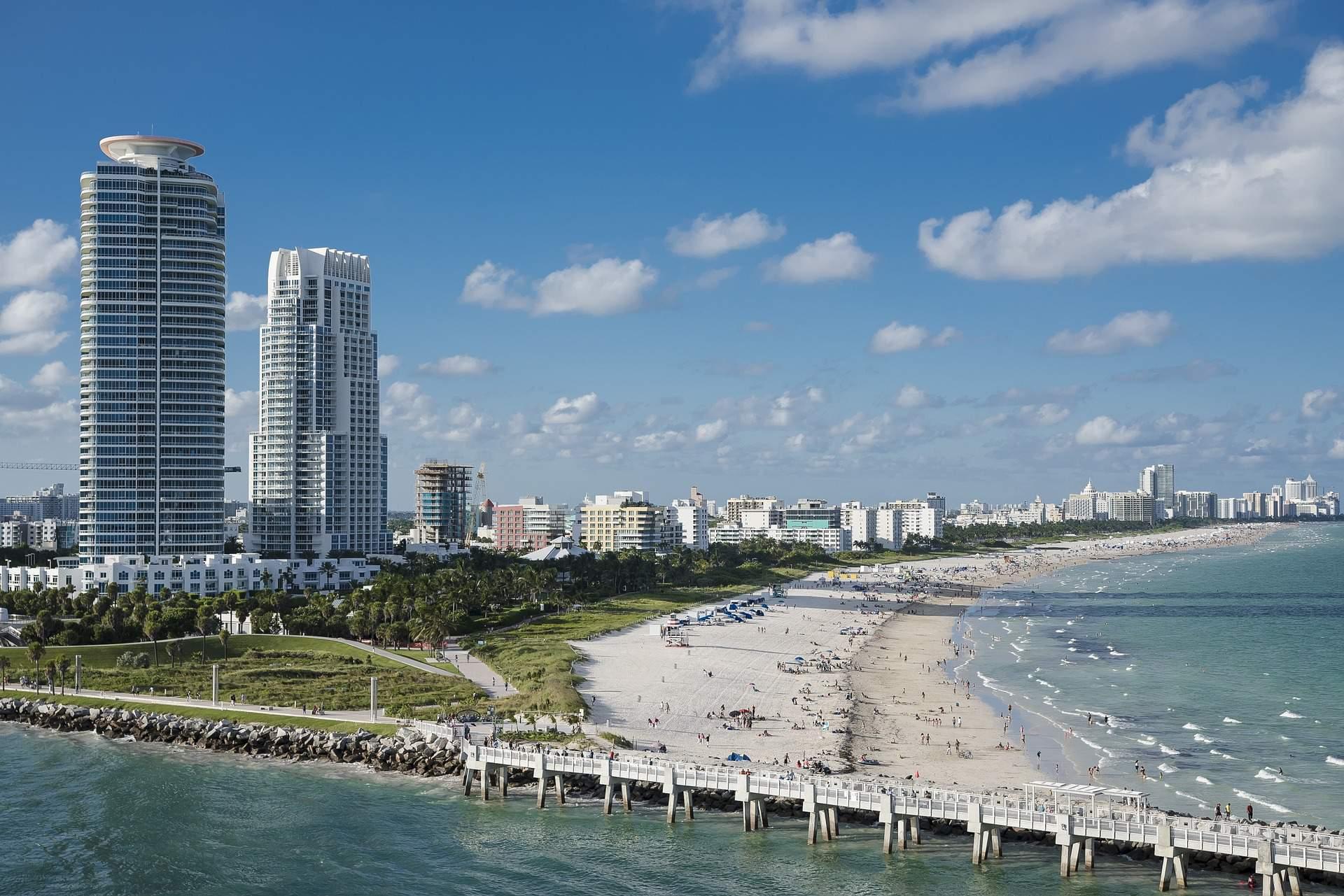 miami florida coast beach