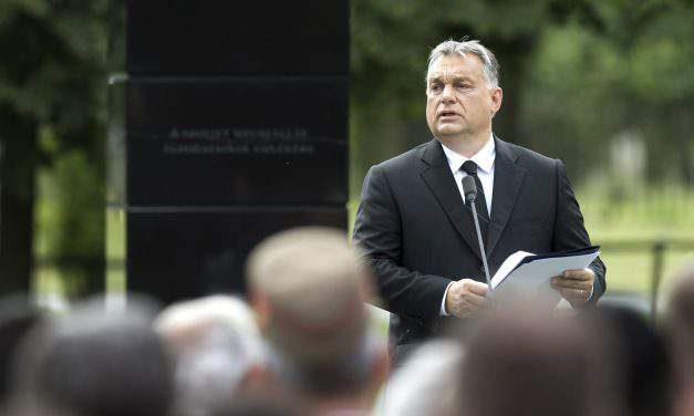 Orbán inaugurates memorial to victims of Budapest's Soviet occupation