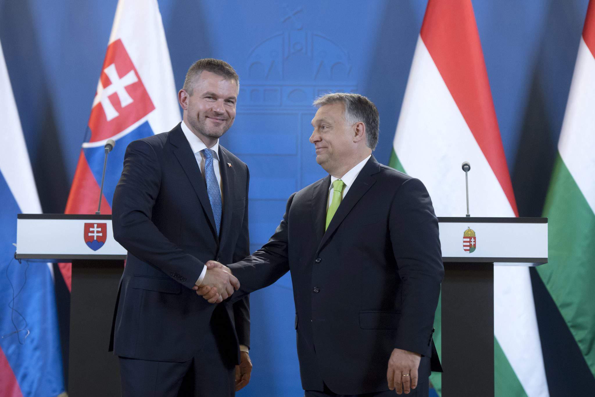 Slovakia Hungary Prime Minister cooperation