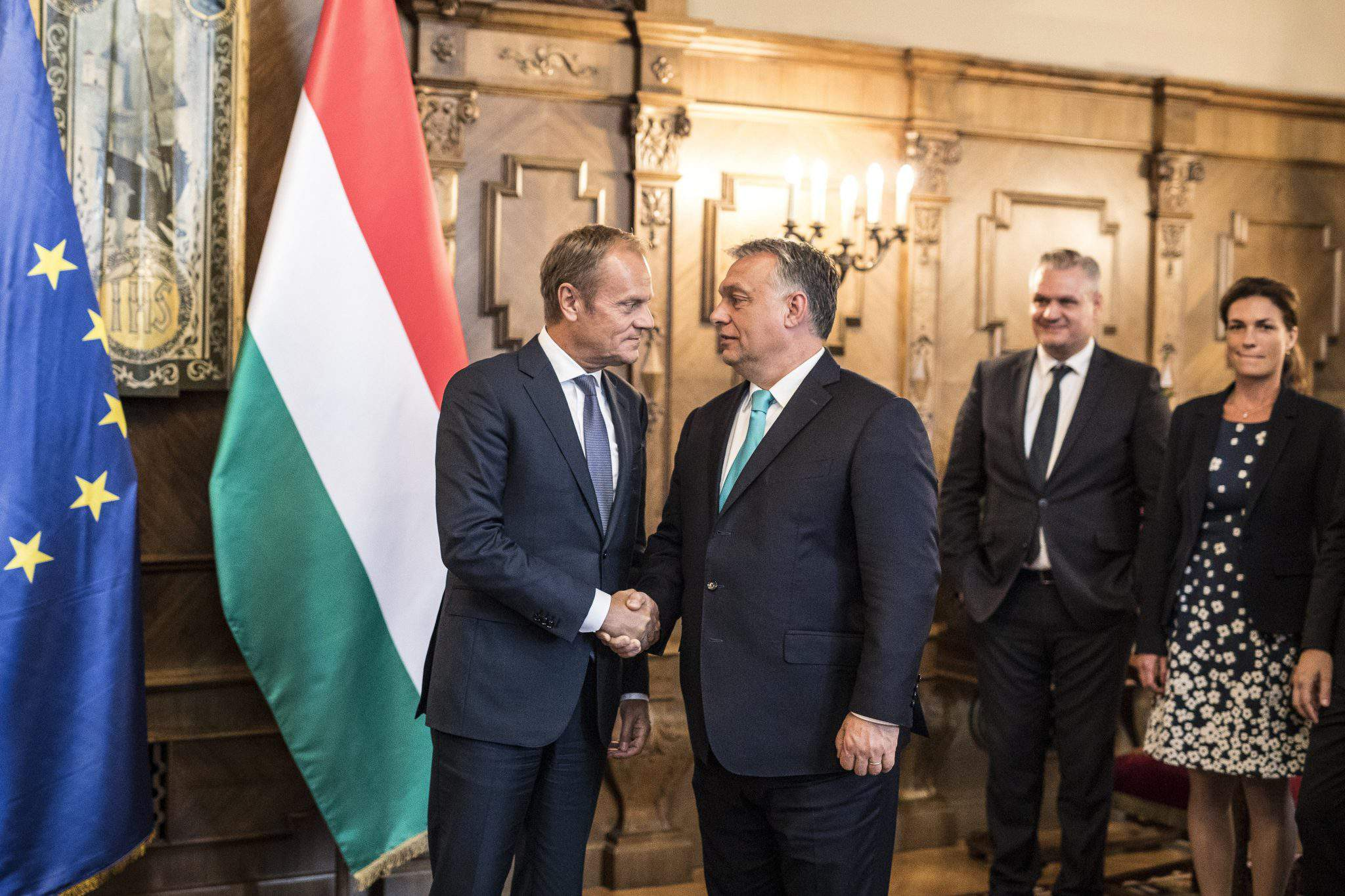 Hungary European Union Orbán Tusk