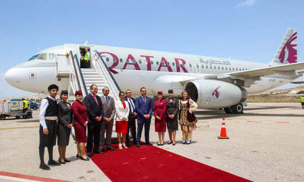 Increase in air travel between Doha and Budapest