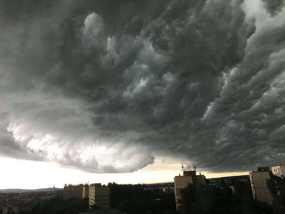 storm Sopron clouds