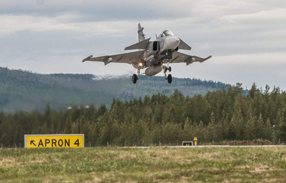 Air Superiority 2018 Exercise in Sweden