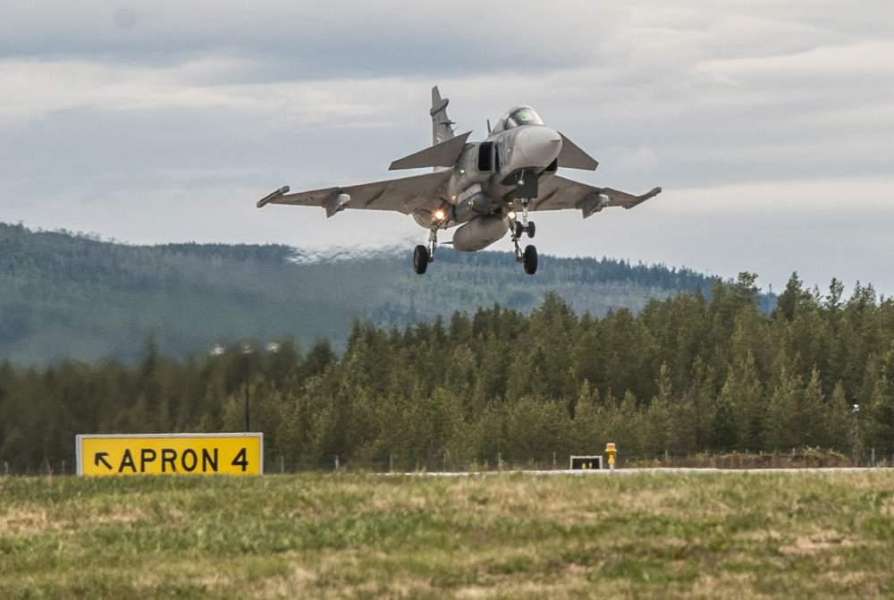 sweden air base