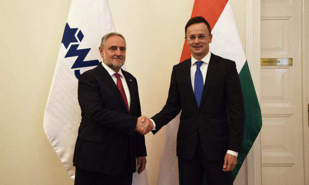 Foreign minister: Hungary considers Israel strategic partner