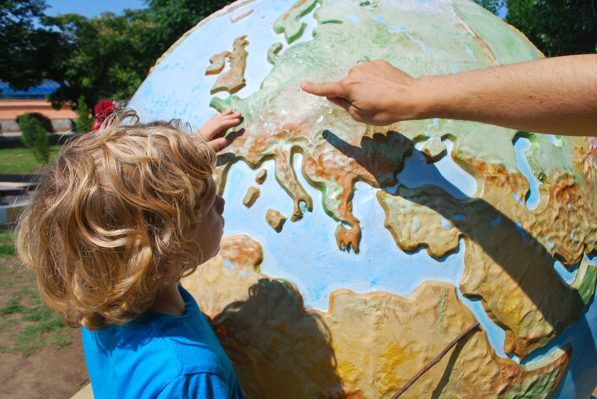 child school map europe