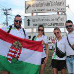 Hungarians at the Spartan race in Thailand