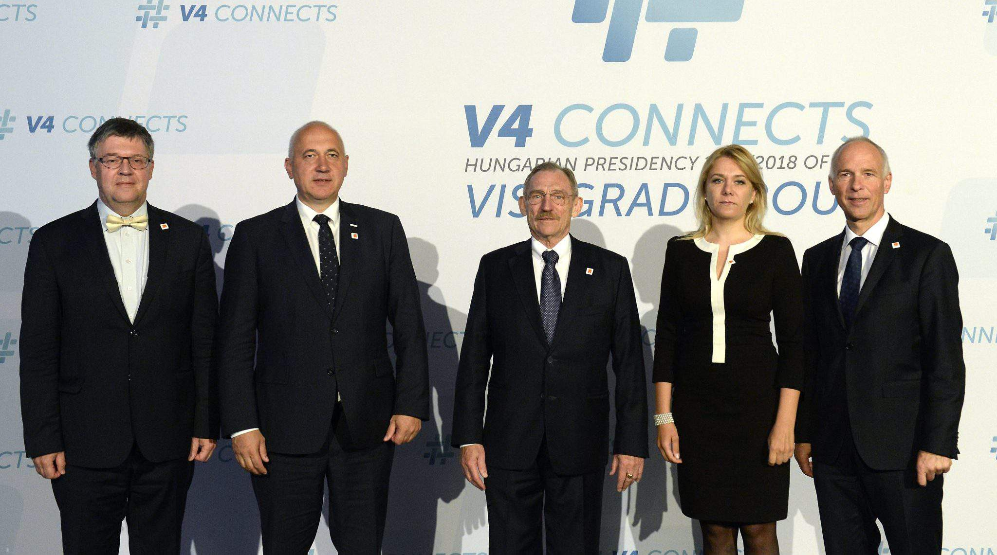 Visegrád Four interior ministers