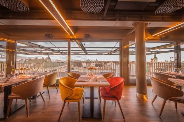 St. Andrea Skybar restaurant budapest