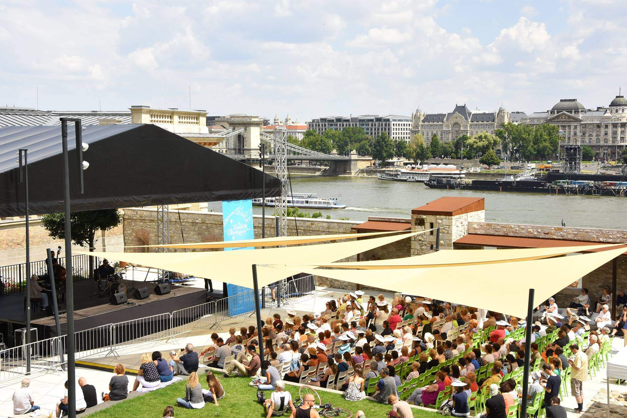 600 free open-air concerts in Budapest over the summer