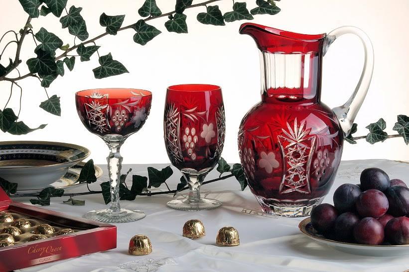 Ajka crystal souvenir gift glass