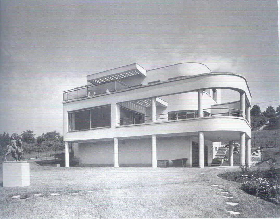 Villa structural design engineer Eszter Pécsi József Fischer
