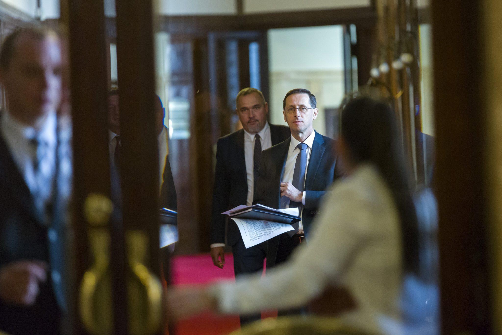 Economy Minister Varga Hungary