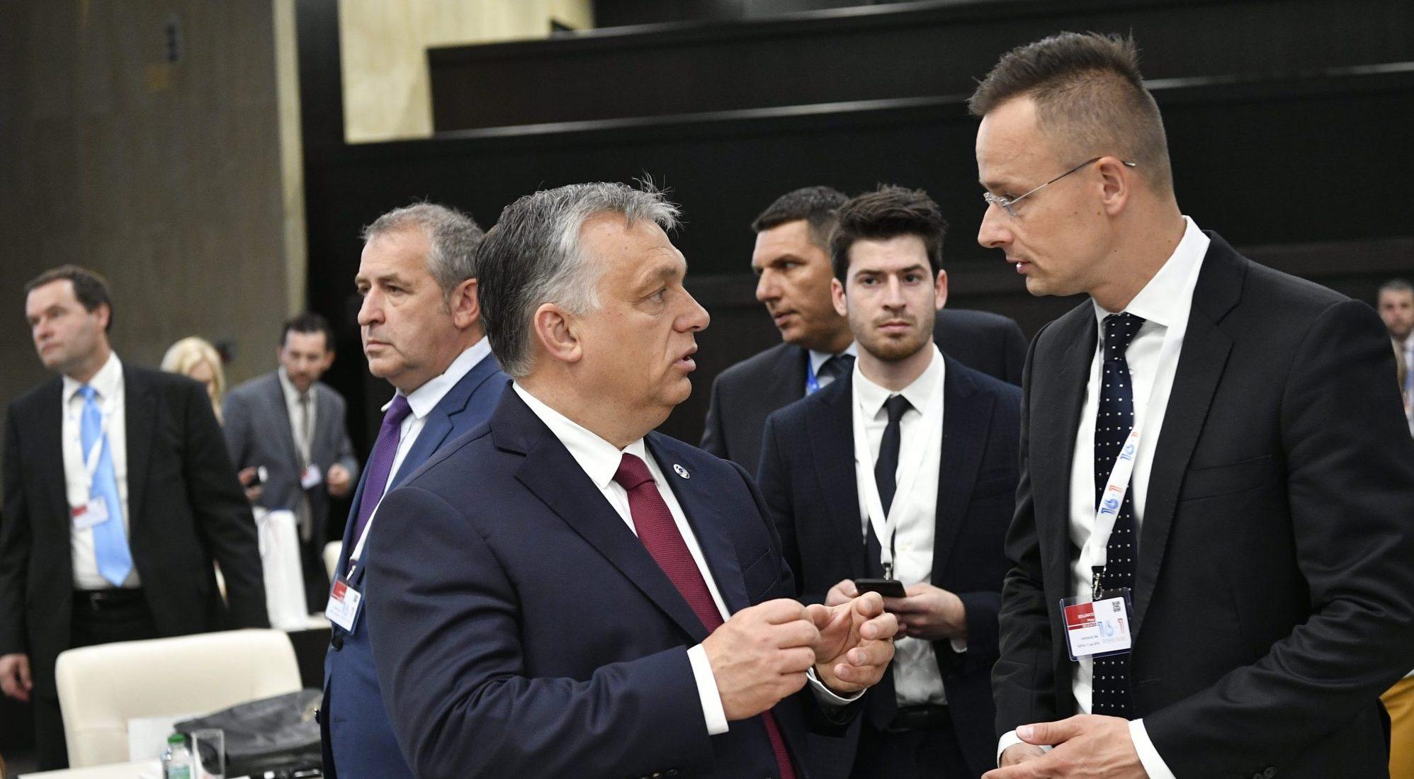 orbán Szijjártó hungary