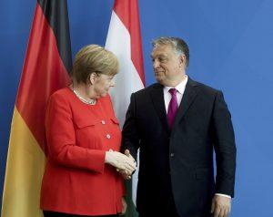 Orbán Merkel Berlin