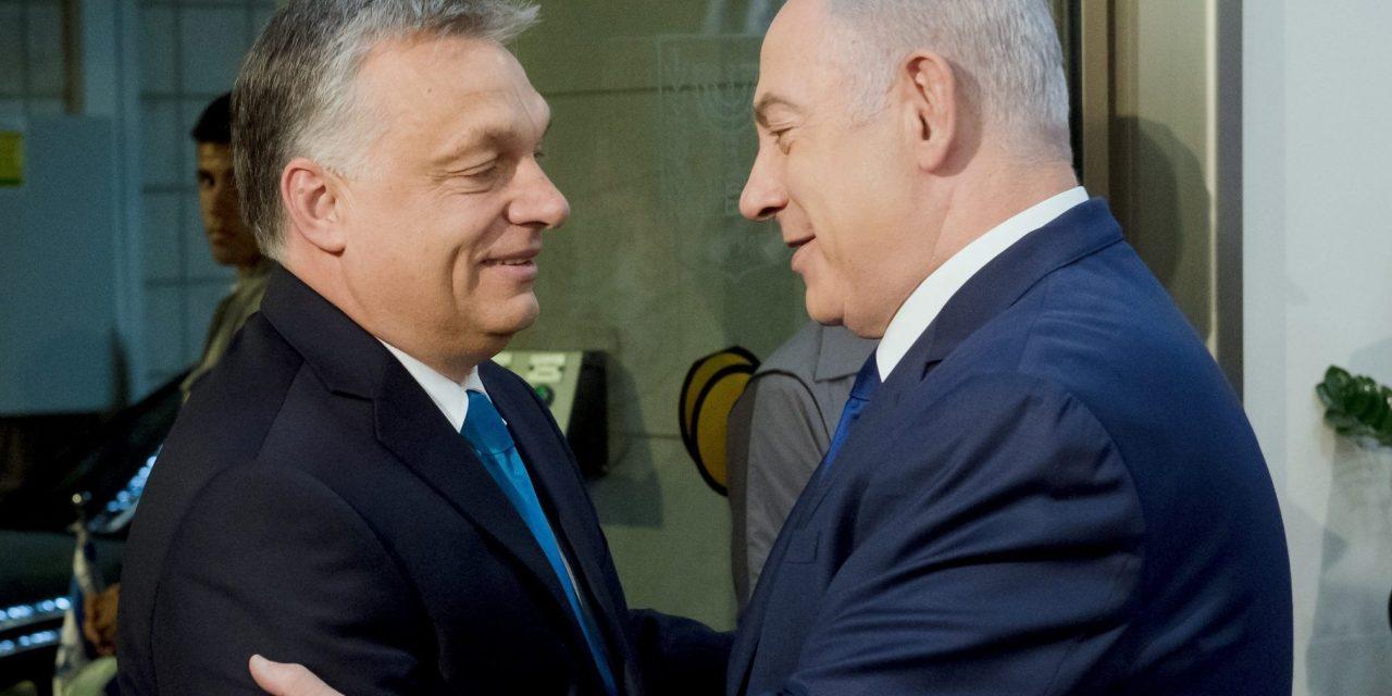 Netanyahu, Orbán meet in Jerusalem