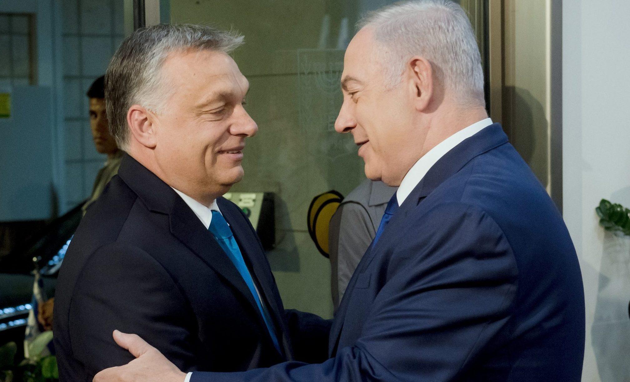 netanyahu orbán jerusalem