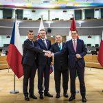 visegrad for group Eu summit