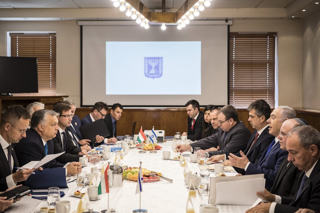 Hungary Israel Netanyahu Orbán