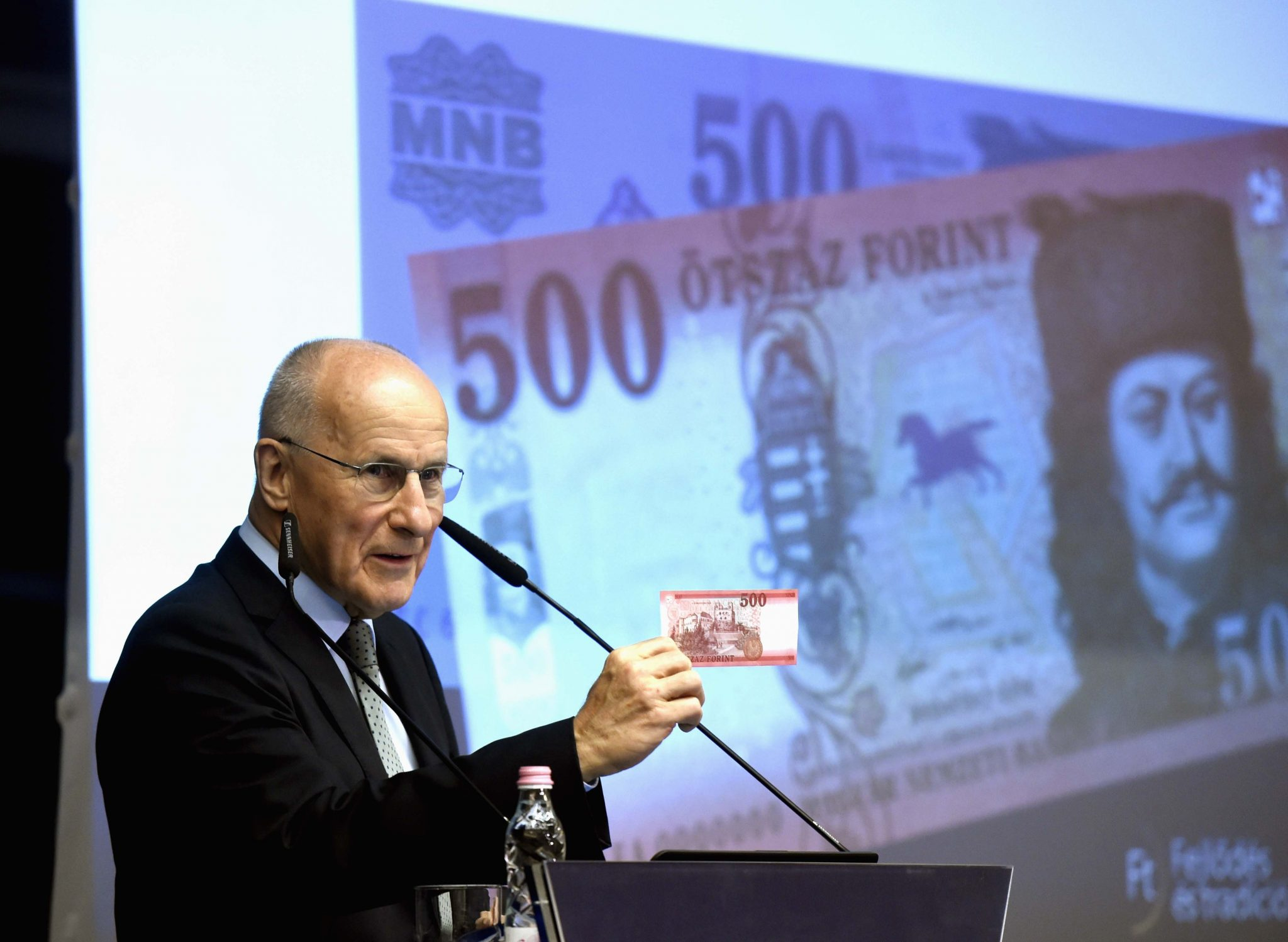 500 forint note new