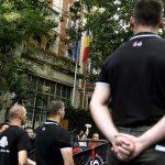 Demonstrators protest imprisonment of ethnic Hungarians in Romania