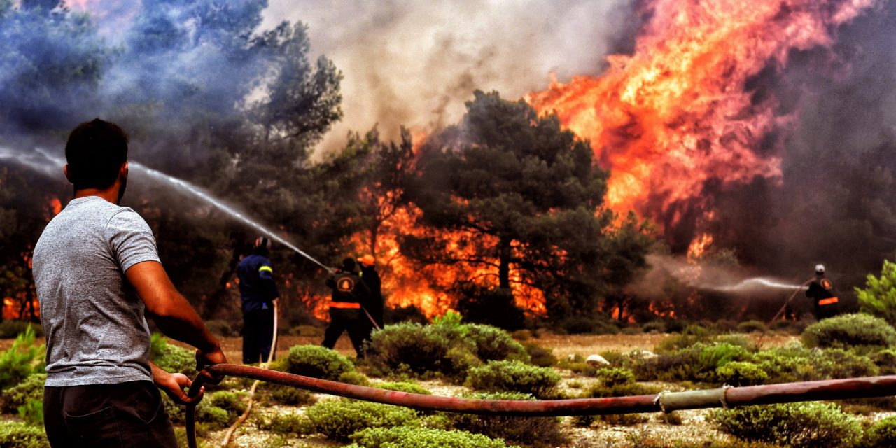 Hungarian tourists report about Greek Fire