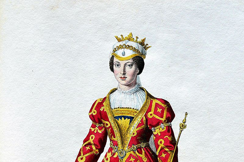 Mary, the first official woman ruler of the Kingdom of Hungary