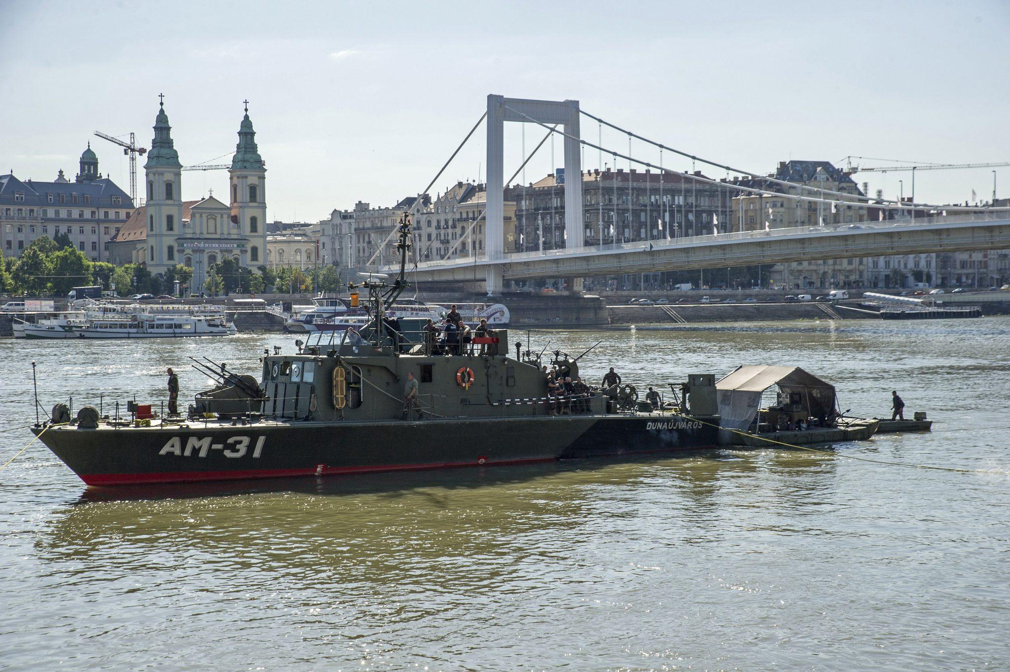 River Danube bomb