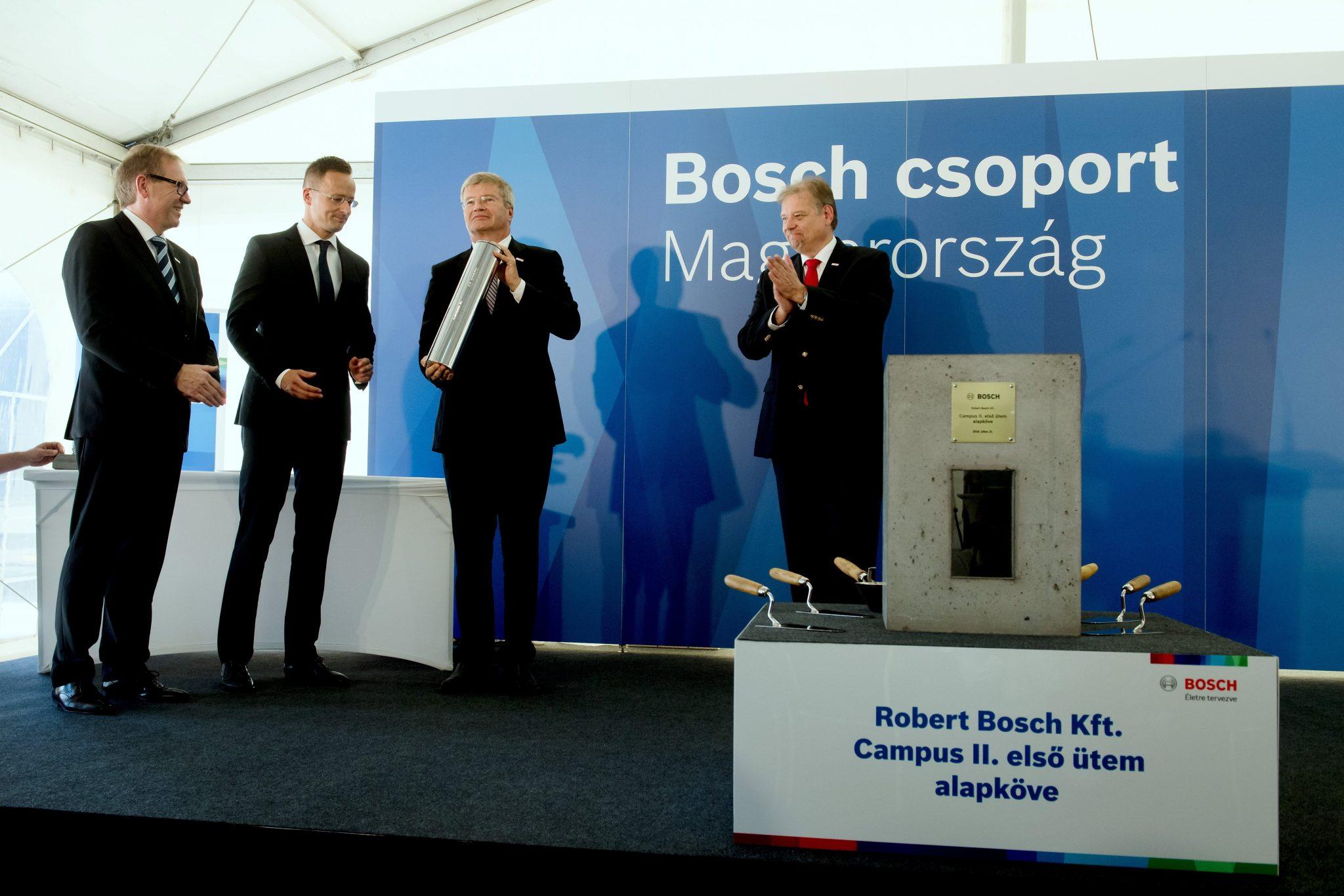 Bosch Hungary investment