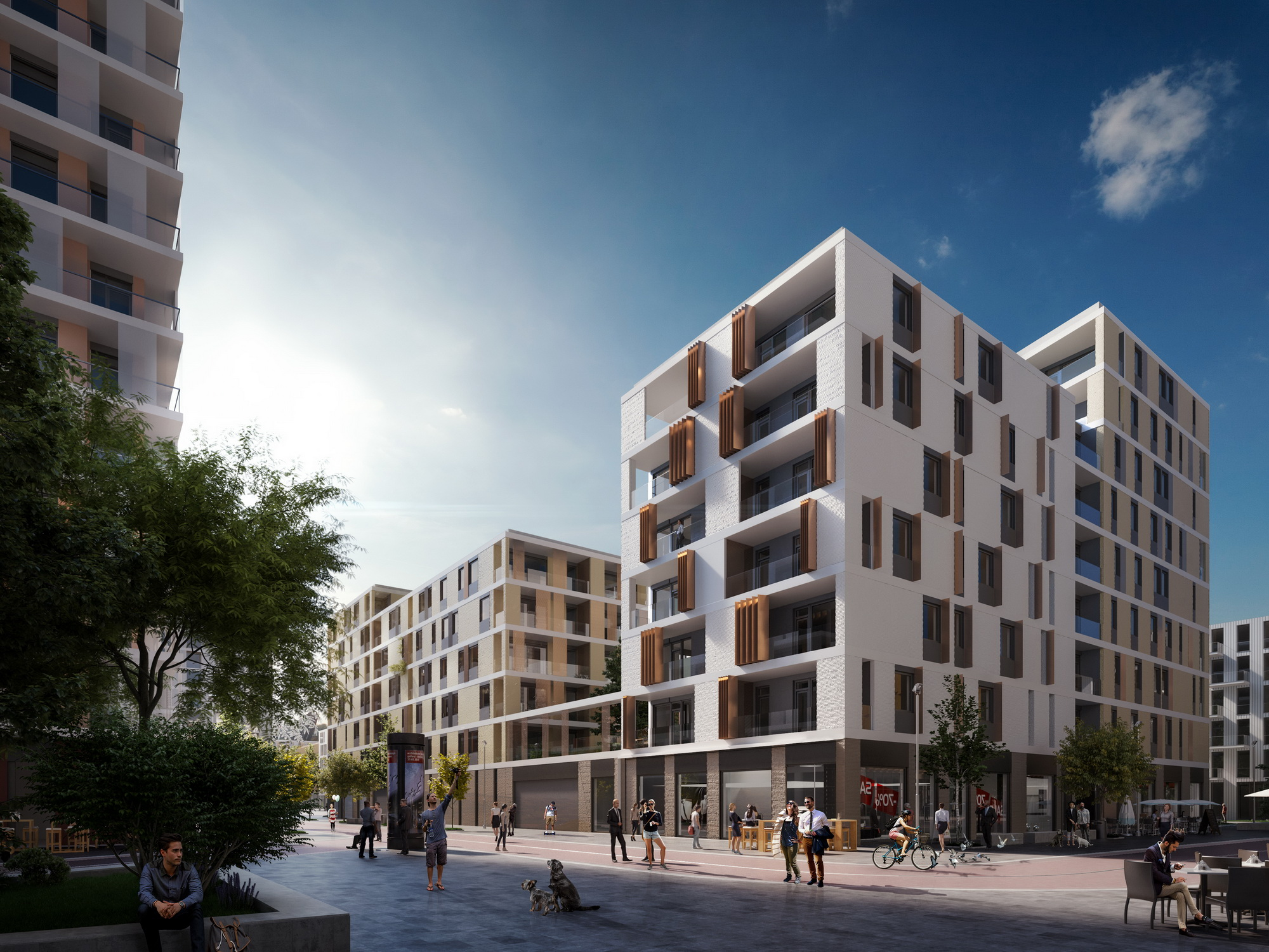 budapart, apartments