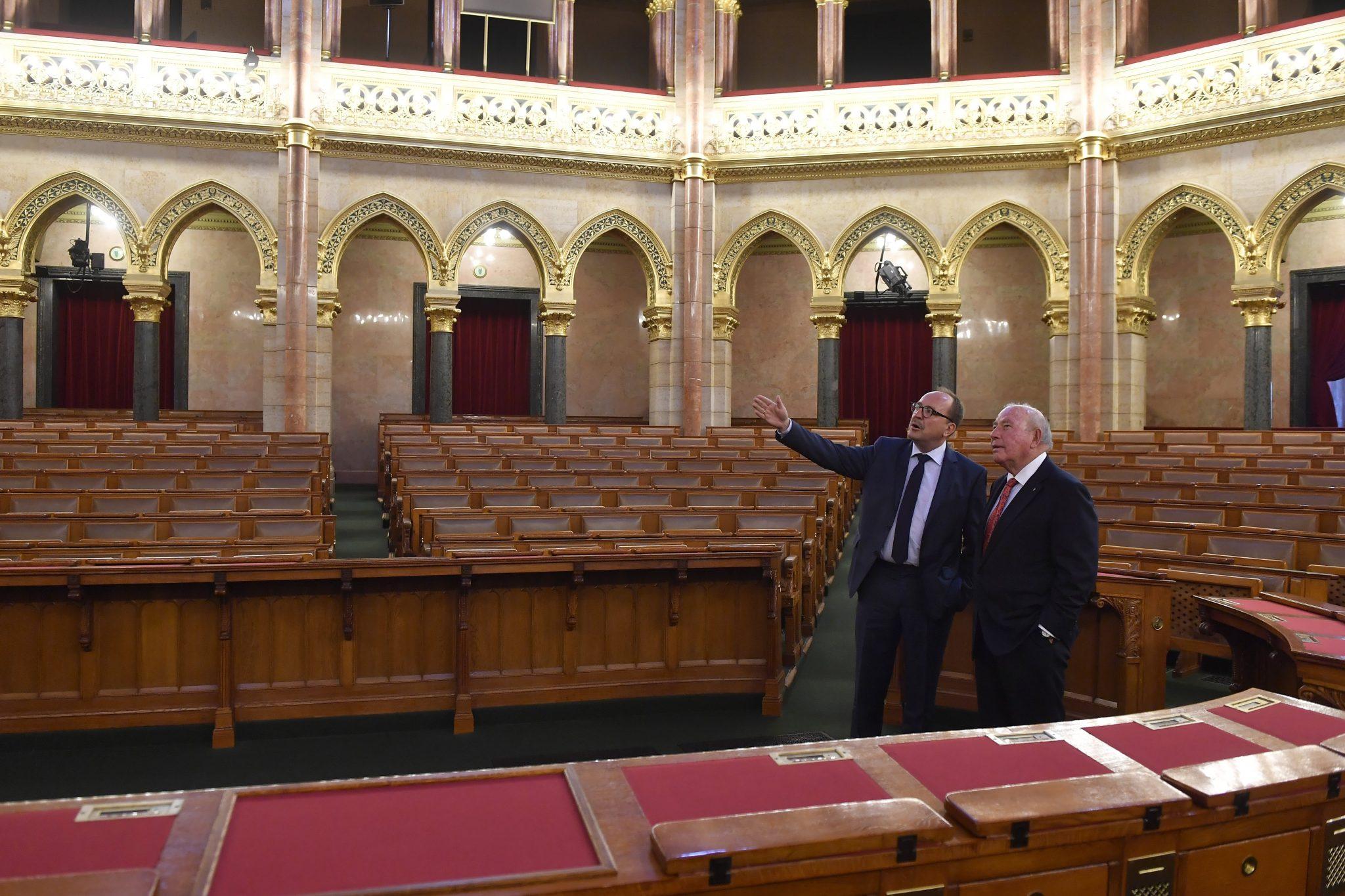 USA Ambassador parliament