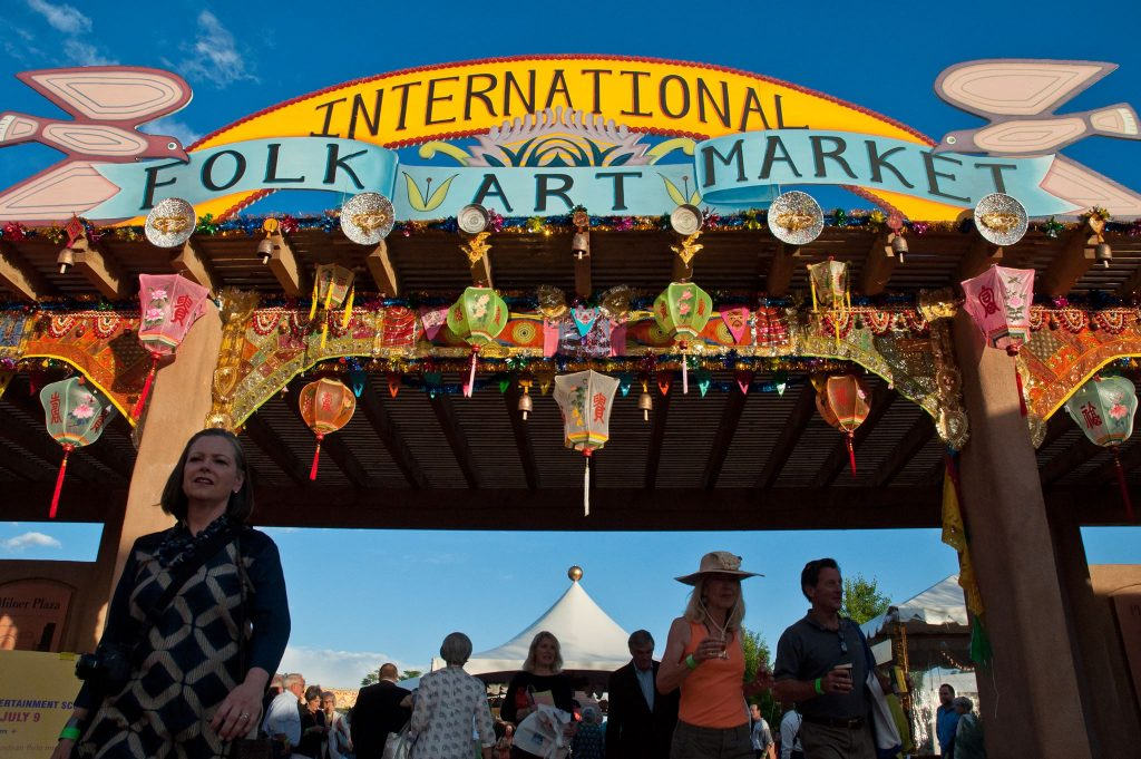 international folk market Santa Fe