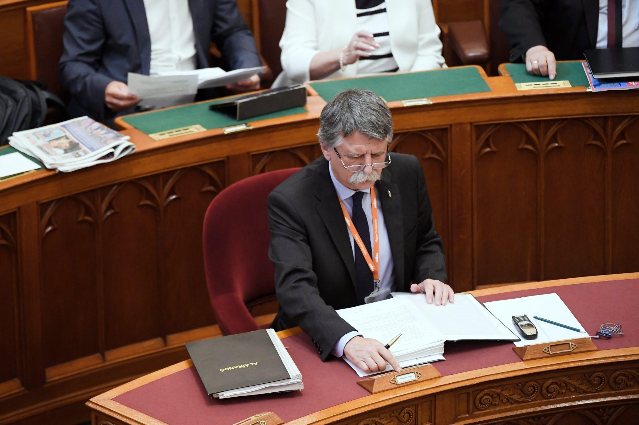 house speaker voting parliament