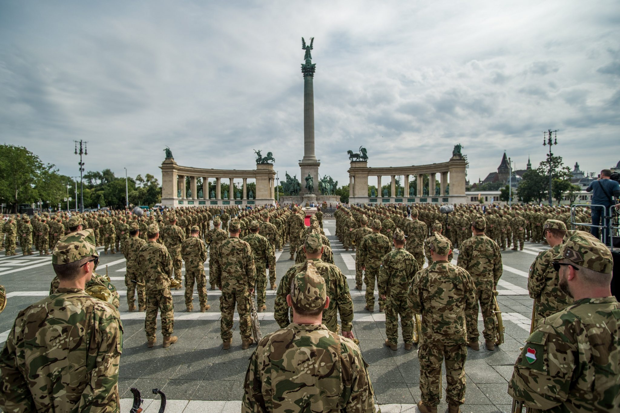 military army Heroes' Square