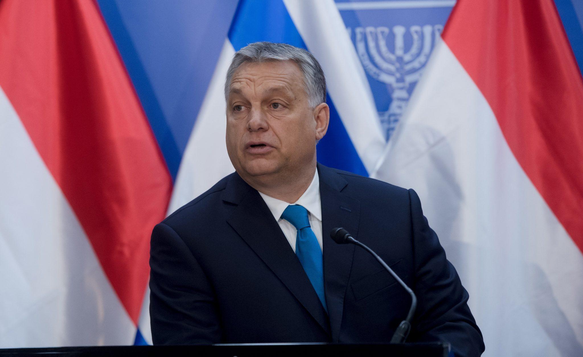 Viktor Orbán Israel