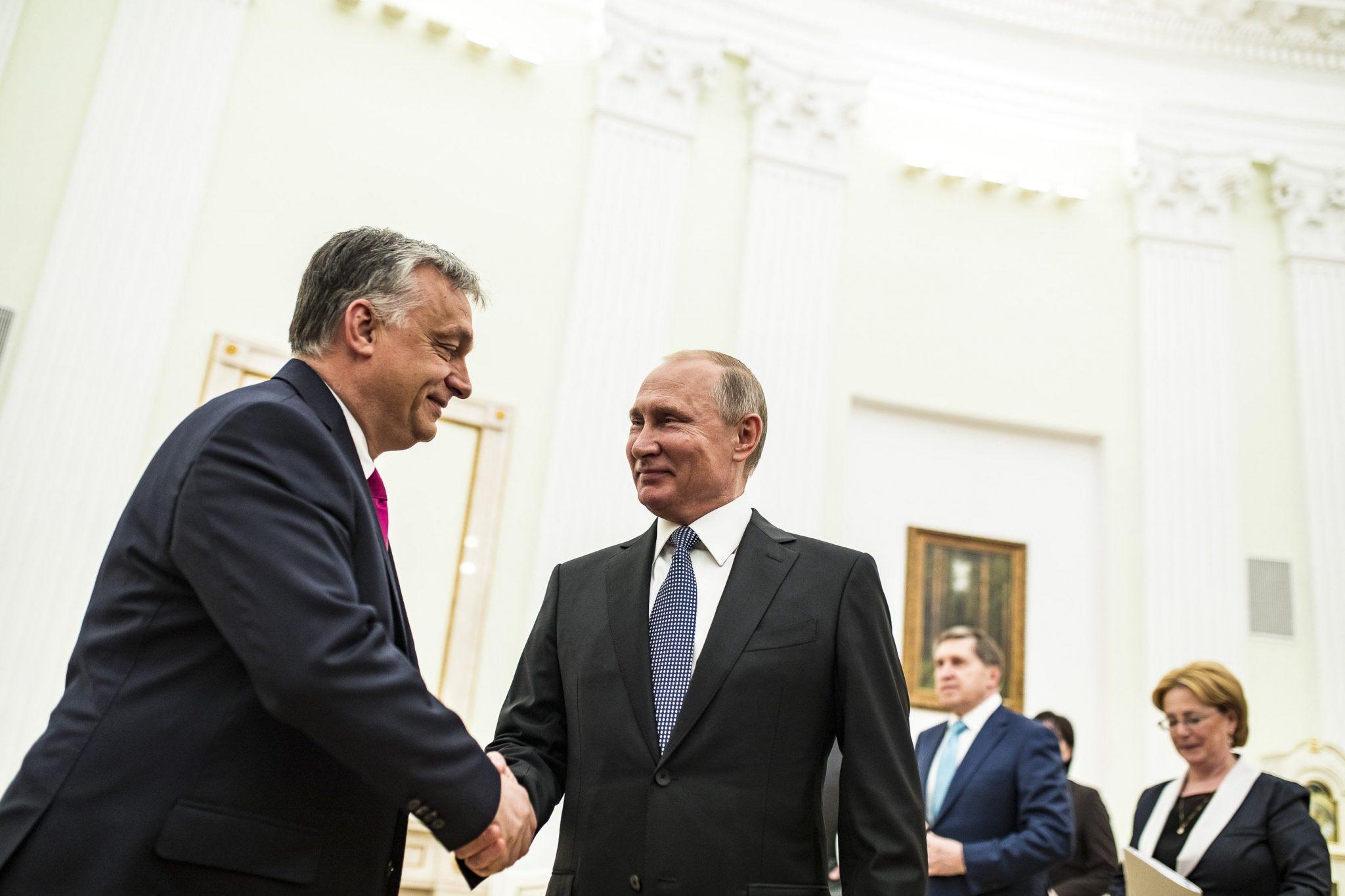 Orbán Putin meeting